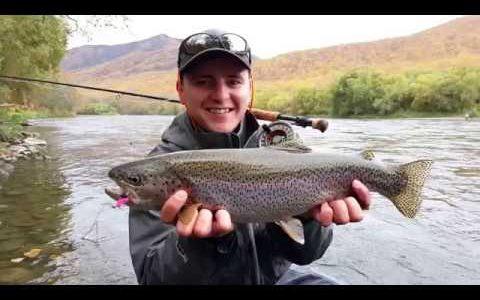 Нахлыстовый сплав по реке Быстрая на Камчатке