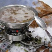 Как сварить вкусный домашний суп на привале