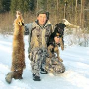 Не нужно брать чужих собак на охоту