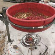 Обогреватель для зимней рыбалки