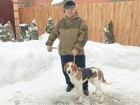 Зимние состязания гончих на Кубани