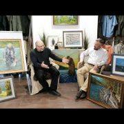 Интервью с опытным нахлыстовиком и начинающим художником Александром Кудиновым